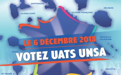 Élections professionnelles du 30 novembre au 6 décembre 2018