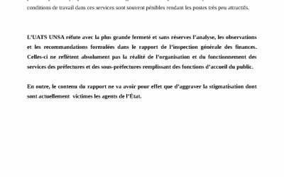 Communiqué : rapport de l'IGF sur le temps de travail dans la fonction publique de l'Etat