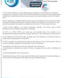 Allocation compensatrice CSG
