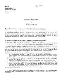 Mise en œuvre de la rupture conventionnelle au Ministère de l'Intérieur