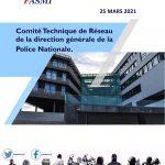 Comité Technique de Réseau de la direction générale de la Police Nationale du 25 mars 2021