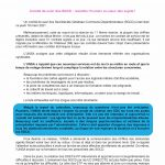 Comité de suivi des SGCD : remettre l'humain au coeur des sujets !