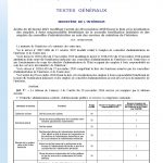 Arrêté du 26 février 2021 fixant la liste des emplois à forte responsabilité bénéficiant de la NBI