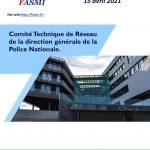 Comité Technique de Réseau de la direction générale de la Police Nationale du 15 avril 2021