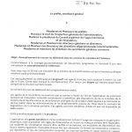 Instruction du 28 mai 2021 du secrétaire général du MI relative à une fin progressive du télétravail avec un retour à une organisation classique 1er septembre