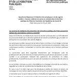 Instruction ministérielle relative à l'actualisation des consignes sanitaires au 30 juin 2021
