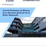Comité Technique de Réseau de la direction générale de la Police Nationale du 16 septembre 2021