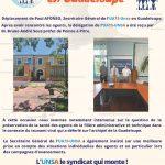 Visite en Guadeloupe du SG UATS-Unsa – 2