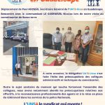 Visite en Guadeloupe du SG UATS-Unsa – 3
