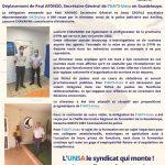 Visite en Guadeloupe du SG UATS-Unsa – 5