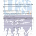 Personnels techniques et spécialisés – Mobilité catégorie B au 1er novembre 2021