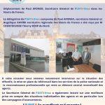 Visite en région Hauts de France SG UATS-Unsa